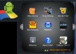 Giao diện Gadget BlueStacks App Player trên Windows 7 với các app dành cho Android được cài đặt sẵn