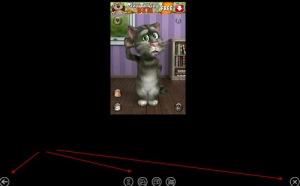 Các nút điều khiển ứng dụng Android trong BlueStacks App Player