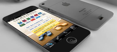 Có quá nhiều thông tin khác nhau về iPhone thế hệ sáu. Ảnh concept một mẫu iPhone 6.